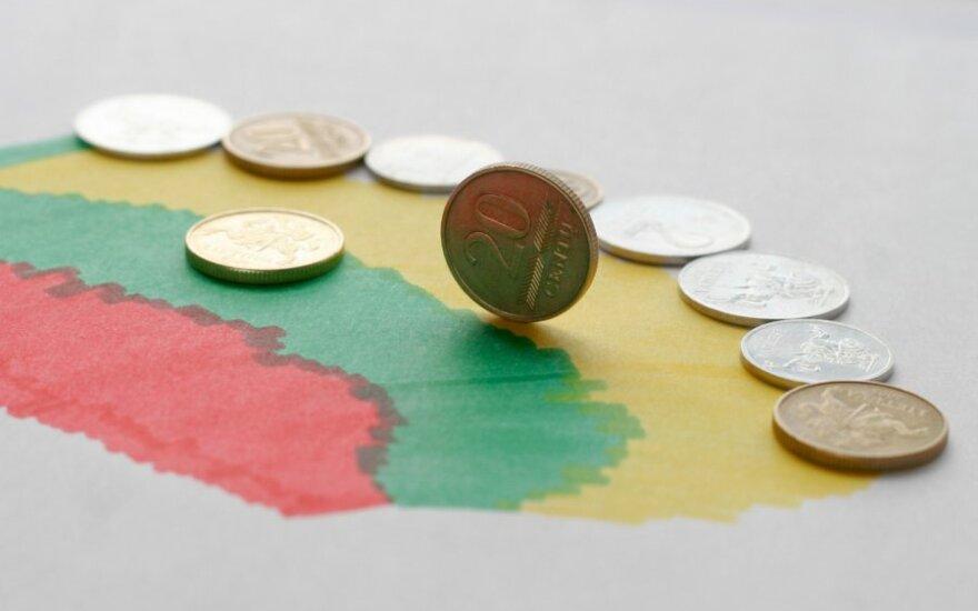 Lietuvos bankroto tikimybė padidėjo iki 17 proc.