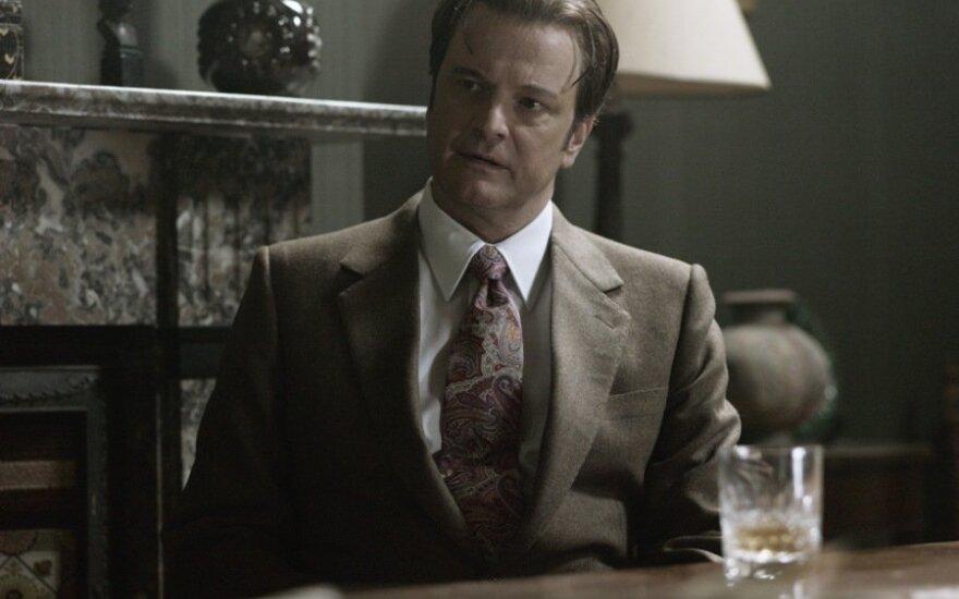 "Colinas Firthas filme ""Bastūnas, siuvėjas, kareivis, šnipas"""