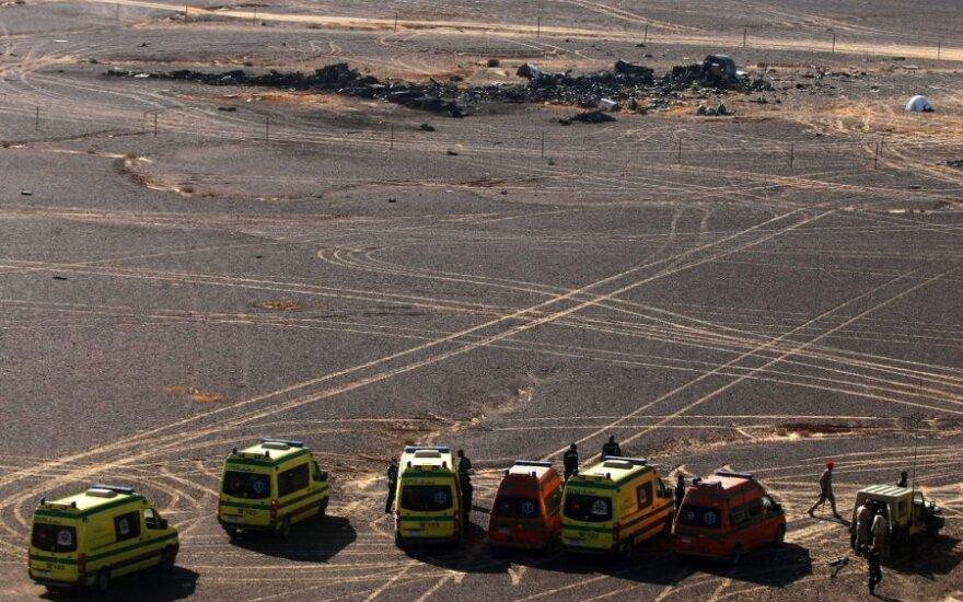 Po Rusijos lėktuvo katastrofos Vyriausybė rekomenduoja nevykti į Egiptą