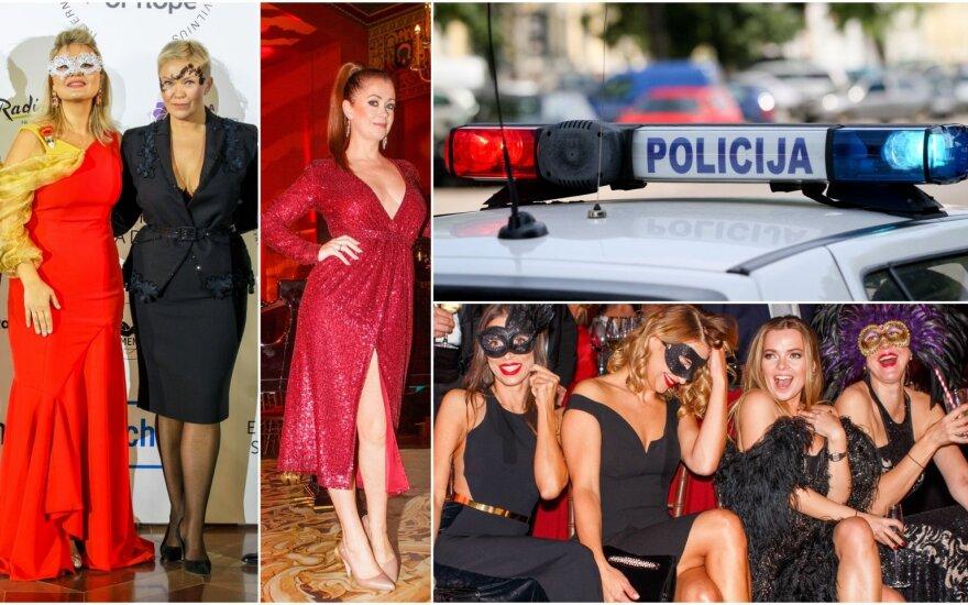 Po karnavalo – policijos dėmesys / Foto: Delfi, Gustas Scinskas