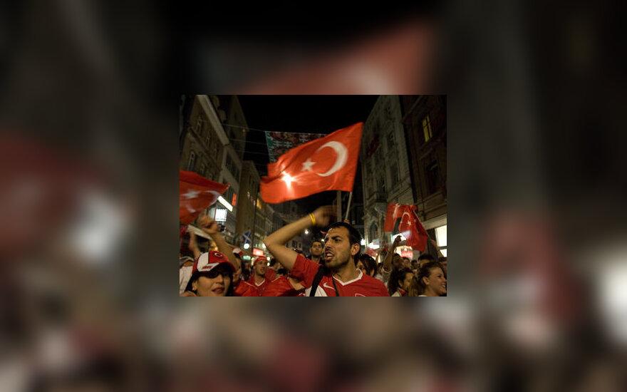 Turkijos futbolo rinktinės sirgaliai