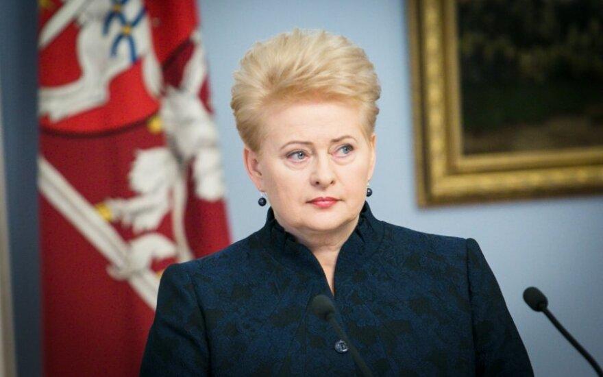 D. Grybauskaitė ragina tarptautinę bendruomenę stabdyti smurtą prieš moteris