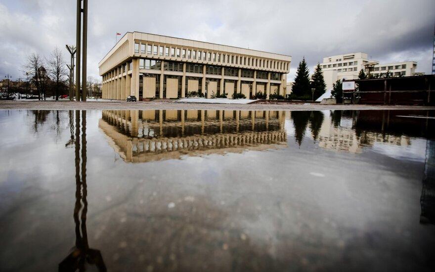 The Lithuanian parliament, Seimas