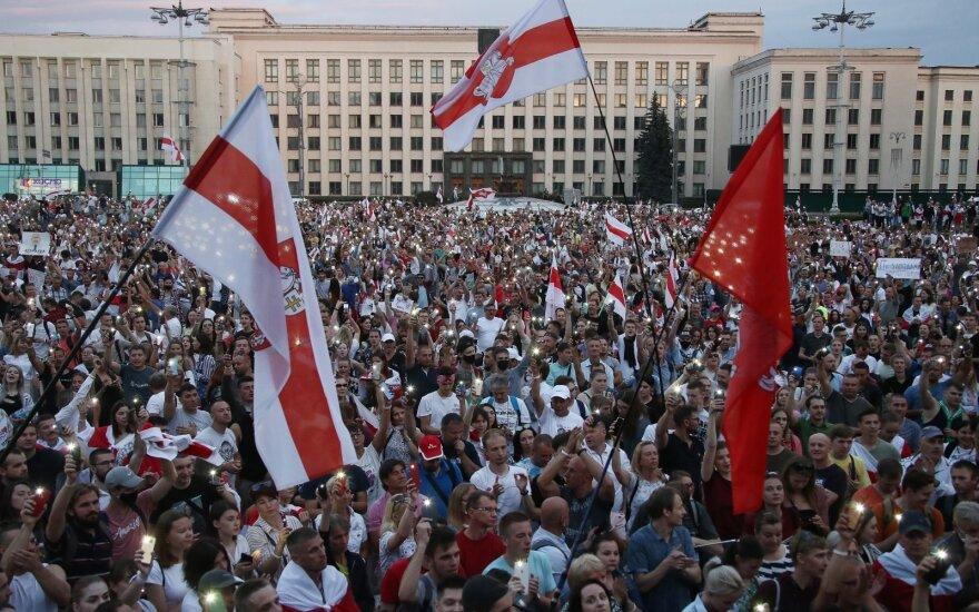 Baltarusijos demokratijos judėjimas mini masinių protestų pradžios metines