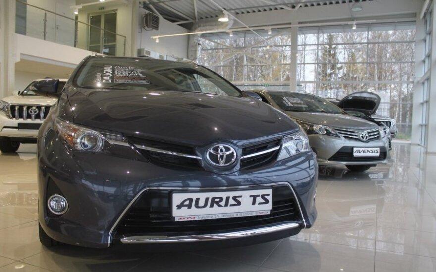 Naujo Toyota salono atidarymas Panevėžyje