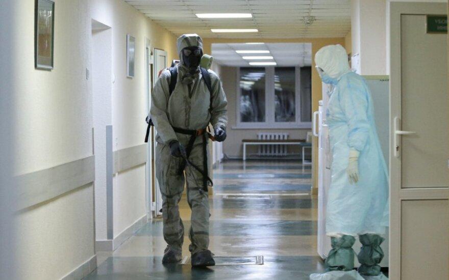 Baltarusijoje nustatytų užsikrėtimo koronavirusu atvejų skaičius išaugo iki 23 906