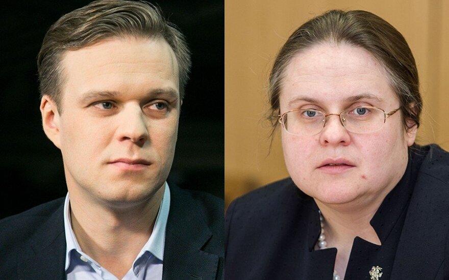 Širinskienė nerimsta: prašo etikos sargų ištirti, ar Landsbergio veikla yra suderinama su jo statusu