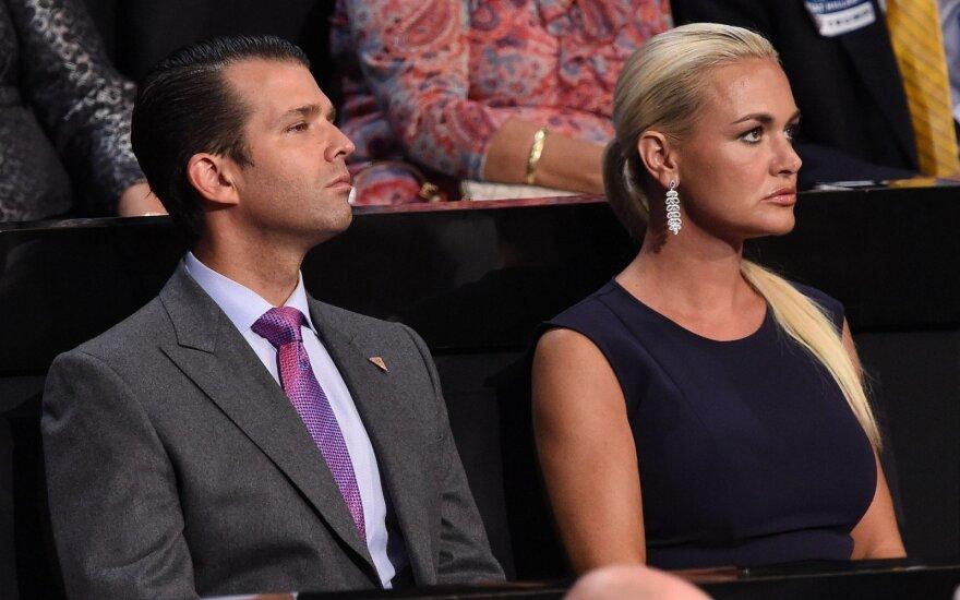 Vanessa Trump ir Donaldas Trumpas Jaunesnysis