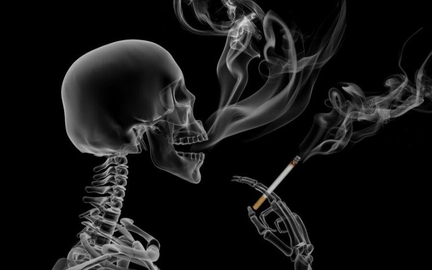 Parodija: pasakojimas apie rūkymą ir jo plėtrą Lietuvoje