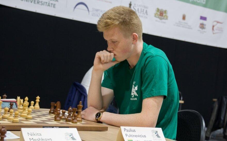 Paulius Pultinevičius /// FOTO: Lietuvos šachmatų federacija