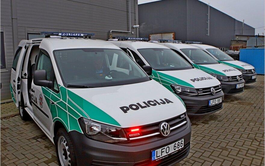 Policijos pareigūnai gaus 128 naujus automobilius