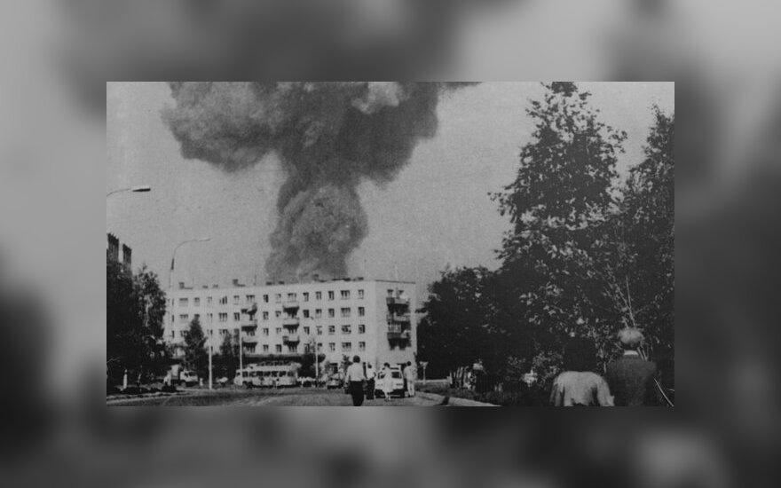 Arzamaso traukinio sprogimo padariniai – liudininko Nikolajaus Bloshenkovo nuotr.