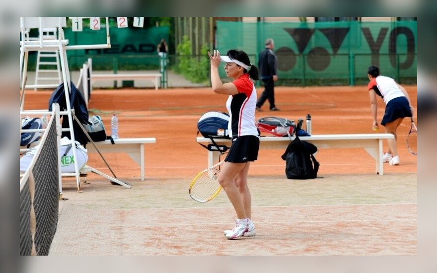 Varžybos Palangos teniso kortuose (palangostenisas.lt nuotr.)