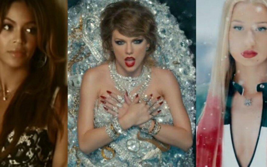 Beyonce, Taylor Swift, Iggy Azalea