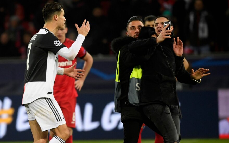 Cristiano Ronaldo ir įsiveržėlis