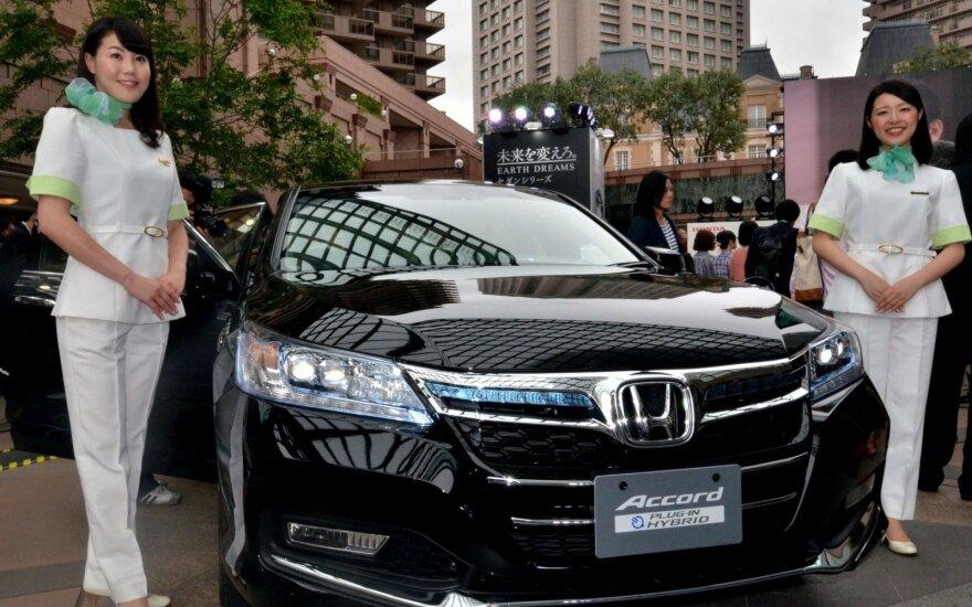 """""""Honda Accord Hybrid"""" – iš tiesų ekologiškas automobilis"""