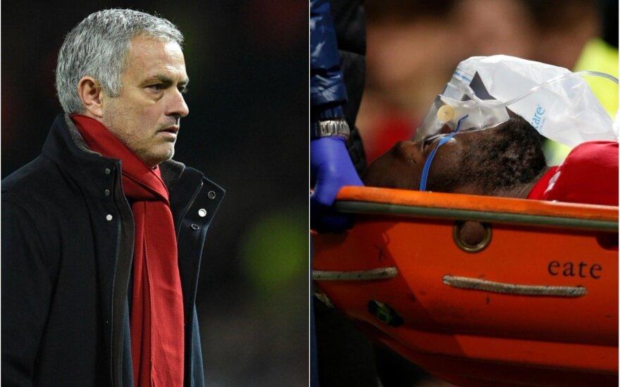 Jose Mourinho ir Lukaku
