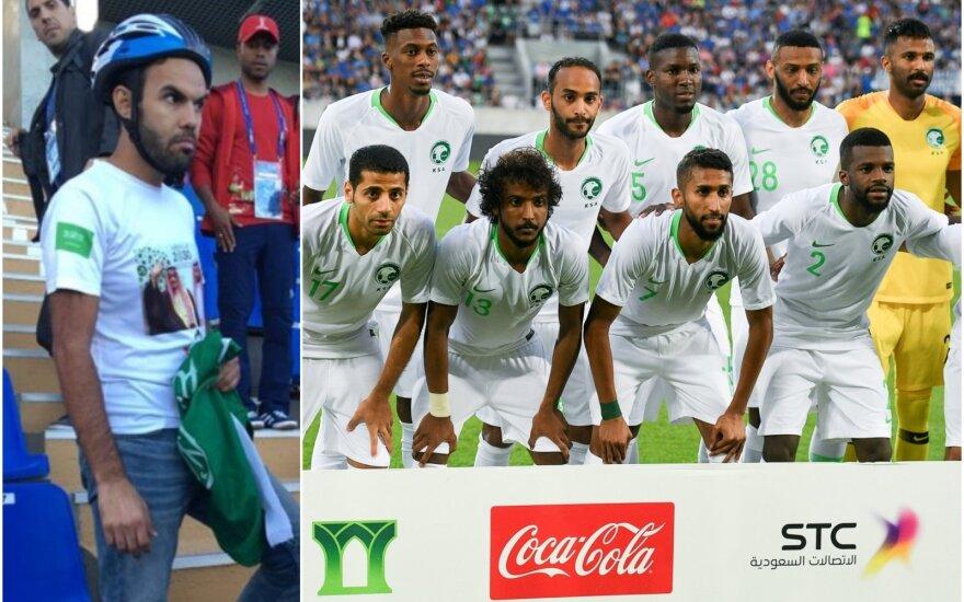 Futbolo sirgalius-dviratininkas ir Saudo Arabijos rinktinė