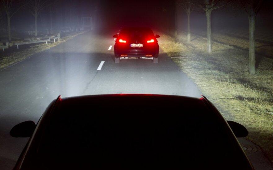 Opel integruoti LED matricų žibintai