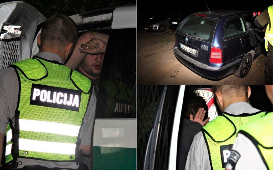 Girtutėlis vairuotojas nepaklausė brolio: kebabus išmainė į areštinės maistą
