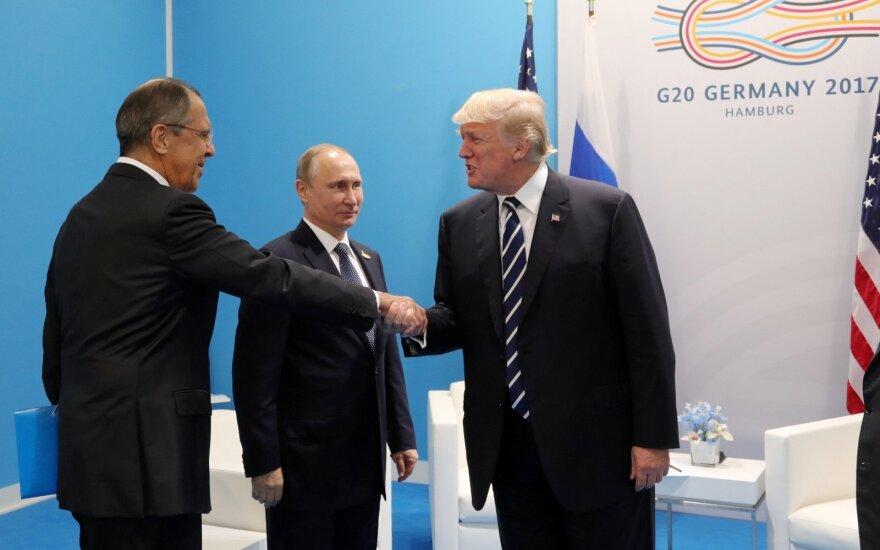 Sergejus Lavrovas, Vladimiras Putinas, Donaldas Trumpas