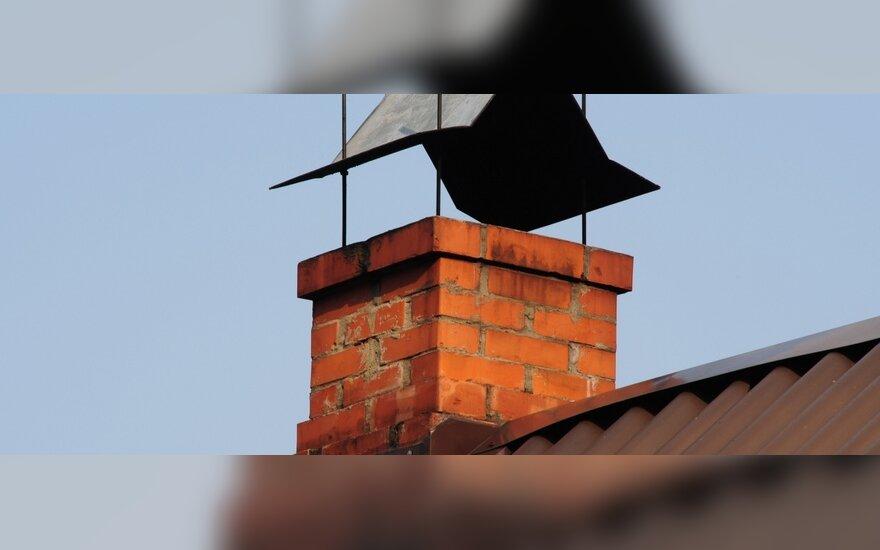 Aiškinsis, kiek individualūs namai teršia orą