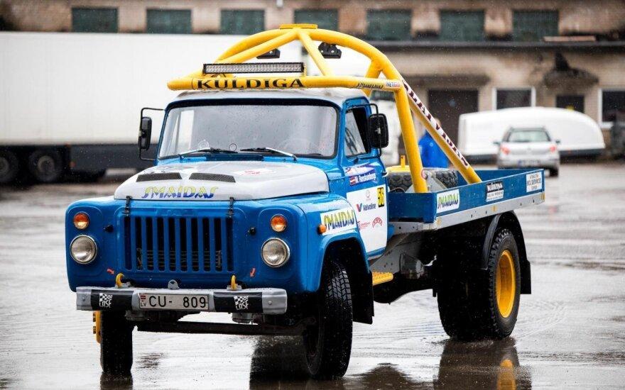 """""""Samsonas Rally Rokiškis"""" varžybose startuos abejingų nepaliekanti GAZ klasė"""