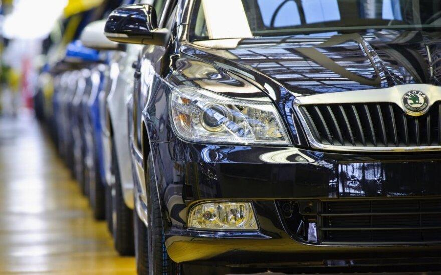 """""""Škoda"""" Kinijoje gamins naują sedaną"""