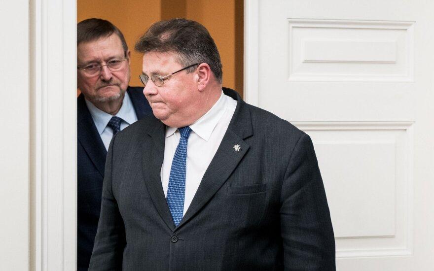 Juozas Bernatonis, Linas Linkevičius