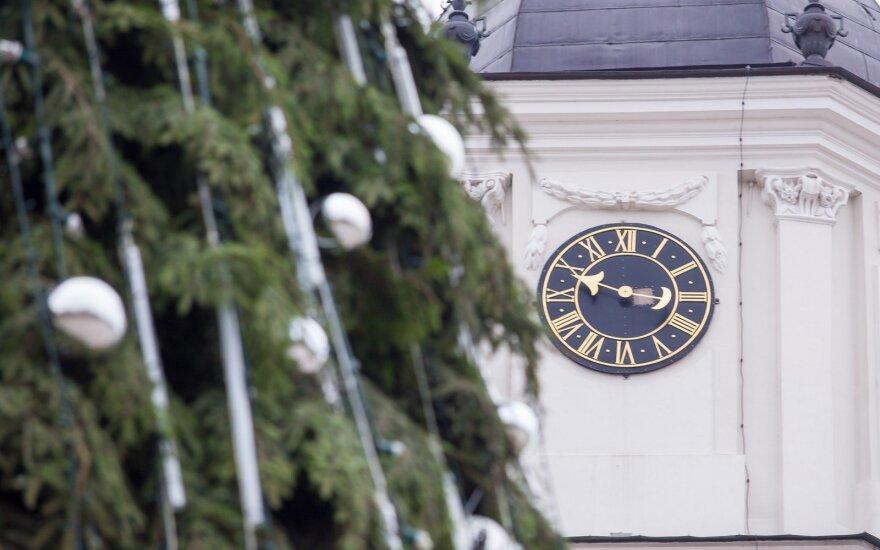 Šeštadienį įžiebiamos dvi spalvotos konkurentės – Vilniaus ir Kauno kalėdinės eglės