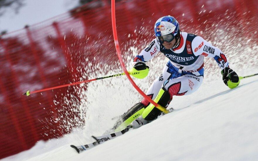 Pasaulio kalnų slidinėjimo čempionas Alexis Pinturault
