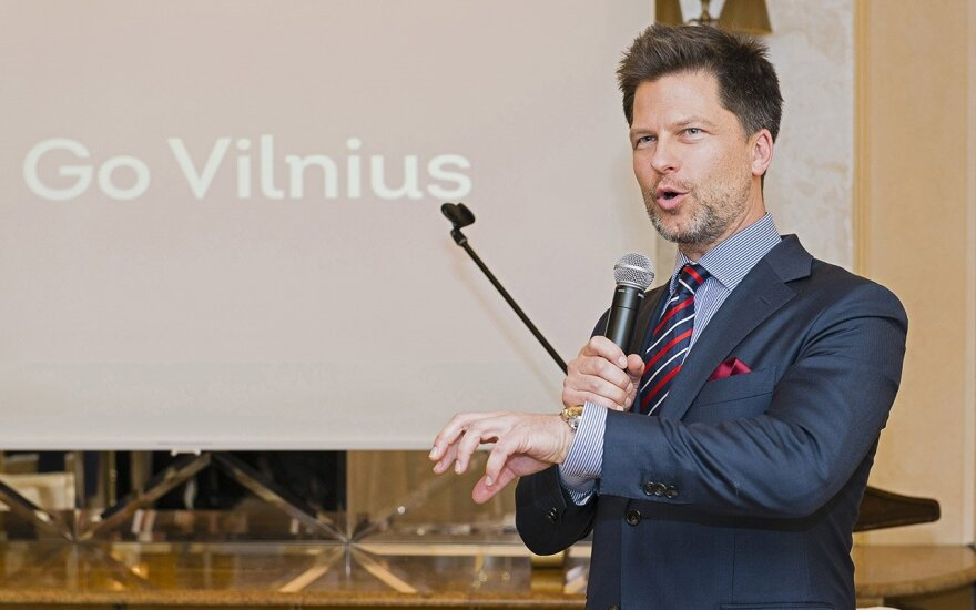 Mr. Darius Udrys of Go Vilnius  Photo © Ludo Segers @ The Lithuania Tribune