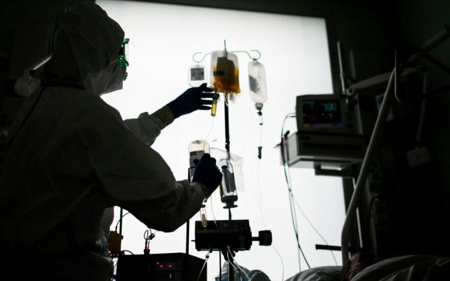 Rusija praneša apie 7 843 naujus patvirtinus koronaviruso atvejus