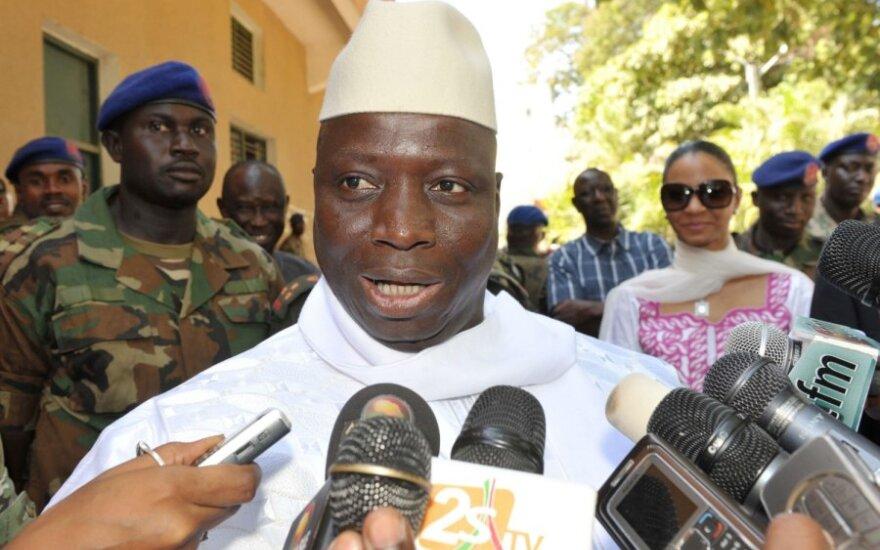 Gambijos prezidentas Yahya Jammeh
