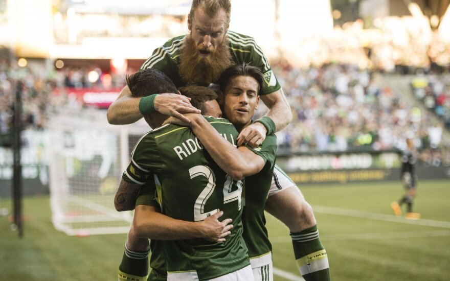 "Portlando ""Timbers"" futbolininkai"