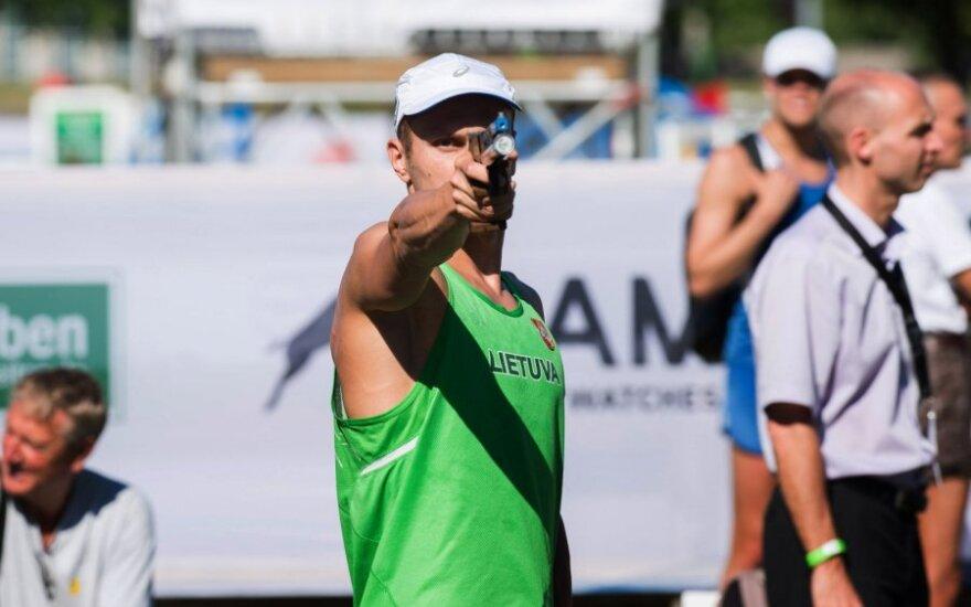 J. Kinderis laimėjo atranką ir kovos Europos čempionato finale