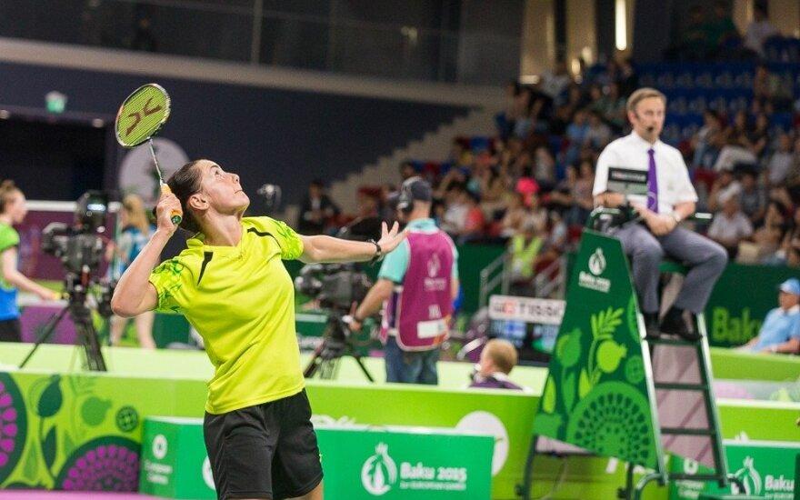 A. Stapušaitytė Bulgarijoje pateko į ketvirtfinalį