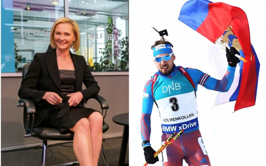 Baiba Broka kratosi ryšių su Rusijos biatlonu