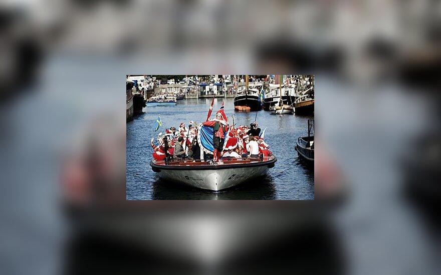 Kopenhagoje vyko Kalėdų senių suvažiavimas