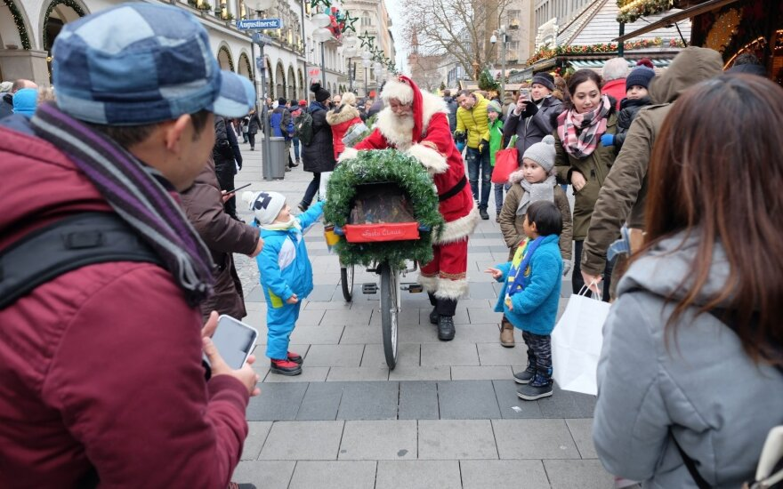 Kalėdų mugės Miunchene