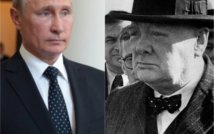 Vladimiras Putinas, Winstonas Churchillis