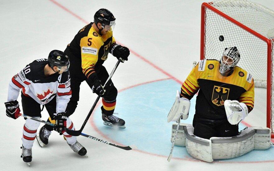 Kanados rinktinė ketvirtfinalyje kausis su Rusija arba Švedija