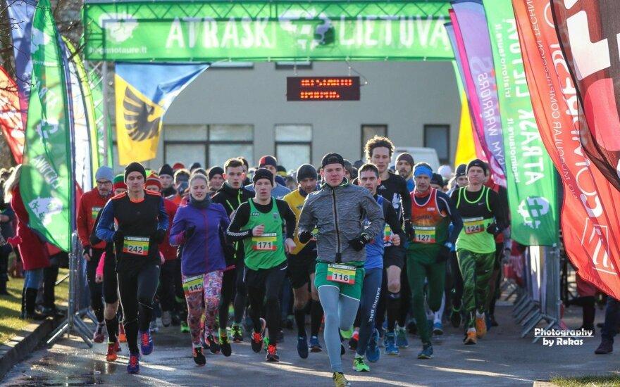 Bėgimas Kėdainiuose / FOTO: Rokas Lukoševičius