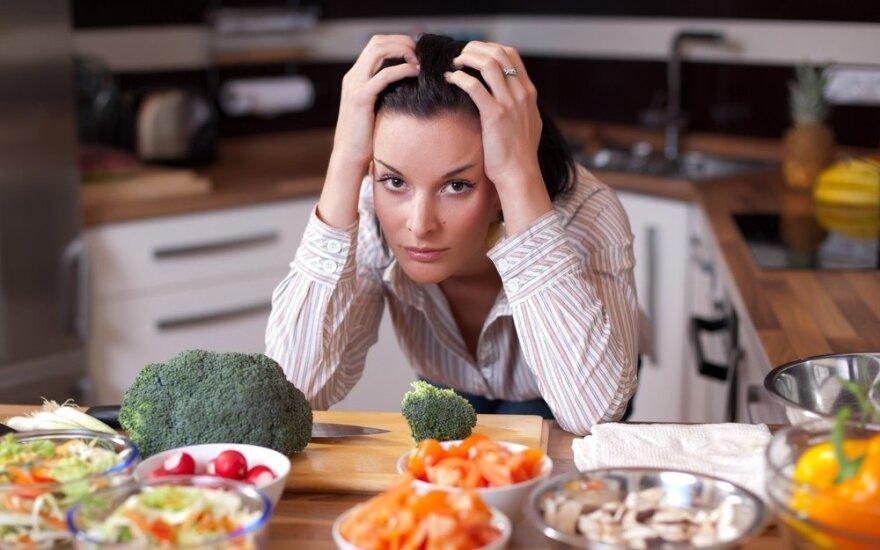 Kaip visiems laikams pamiršti dietas?