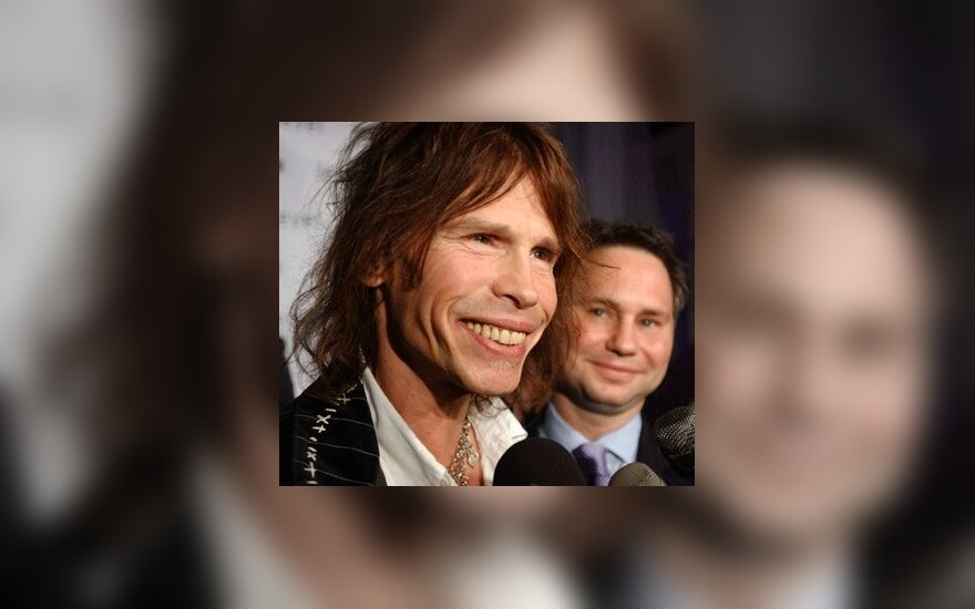 """Aerosmith"" lyderis Stevenas Tyleris"