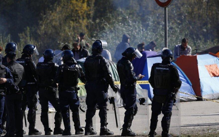 Migrantams mėginant prasiveržti iš Bosnijos ir Hercegovinos į Kroatiją, nukentėjo šeši žmonės