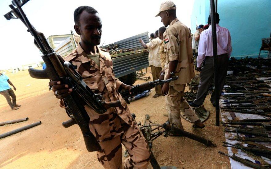 Sudano pajėgos Darfūre