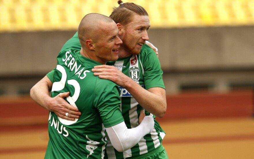 """A lyga. Kauno """"FK Spyris"""" - Vilniaus """"Žalgiris"""""""