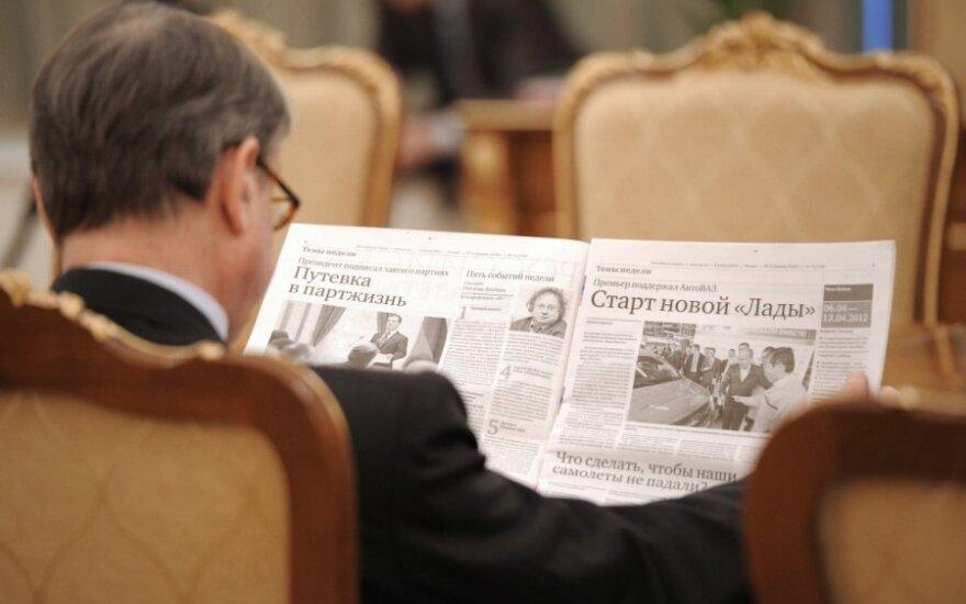 JK dėl melagienų skleidimo neįsileis kai kurių Rusijos žurnalistų į konferenciją