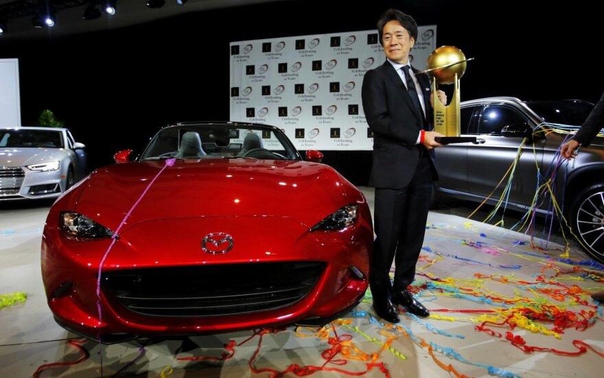 """""""Mazda MX-5"""" tapo """"Metų pasaulio automobiliu"""""""